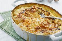 Savoury Garlic Scalloped Potatoes