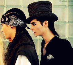 Kaulitz twins, GQ photo shoot, 2010