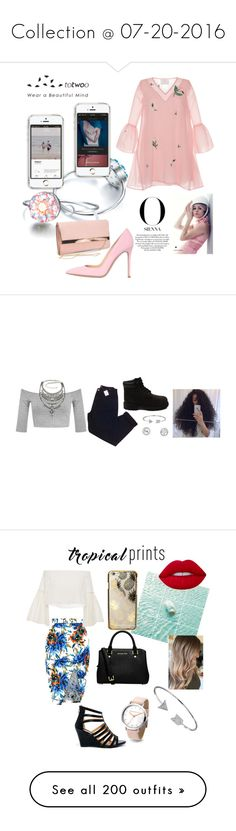 """""""Collection @ 07-20-2016"""" by bkgjewelry ❤ liked on Polyvore featuring Zayan The Label, New Look, Gianvito Rossi, totwoo, totwooglobal, smarttech, Miss Selfridge, Urban Outfitters, Timberland and Bling Jewelry"""