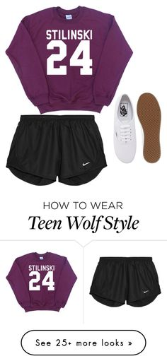 """Untitled #89"" by crystalynk on Polyvore featuring NIKE and Vans"