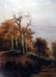 Aleksey Savrasov -  Autumn forest. Kuntsevo (Damn place) (1872)