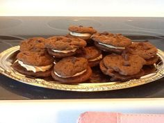 Chocolate Peanut Butter Whoopie Pies from Better Homes & Gardens 2012 Cookbook Supplement