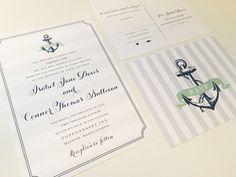 ANCHOR Wedding Invitation Set