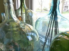 Glass Demijohn Collection