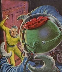 Ed Emshwiller - Bow Down to Null, 1960.