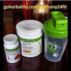 Herbalife Prolessa Duo (30-Day) w/ Herbal Tea Concentrate Liquid Lipo Fat Burner