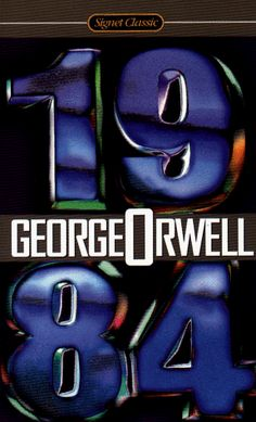 1984 by George Orwell. Creepy Sci-fi goodness!! I will never forget Big Brother.