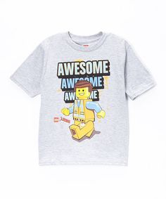 Look what I found on #zulily! LEGO 'Awesome' Tee - Boys by LEGO #zulilyfinds