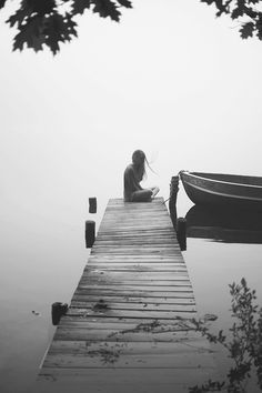 Solitude in the Morning Fog Photo by Caroline Eyer -- National Geographic Foto Picture, Beautiful Places, Beautiful Pictures, Foto Art, Portrait Photography, Alone Photography, Photography Of People, White Photography, Loneliness Photography