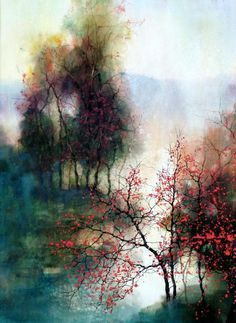 A sprinkling of water colour artists, click on picture to see more lovely artwork