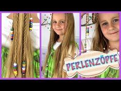 Zopf mit Perlen flechten Sommerfrisur ☼ Strand/Urlaub/Beach/Flechtfrisur - YouTube