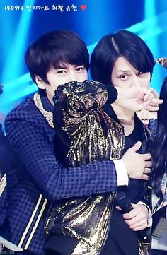 heechul & kyuhyun.....that's a lot of evil sass in one picture