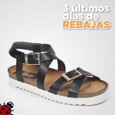 Tenerife 015 Negro #Yokono #YokonoShoes #Shoes #Sandalias