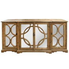 Shop Keats Sideboard at Interiors Online. Exclusive High End Furniture. Mirrored Sideboard, Mirrored Bedroom Furniture, Wood Buffet, Dining Furniture, Side Board, Wood Mirror, Mirror Door, Pine Timber
