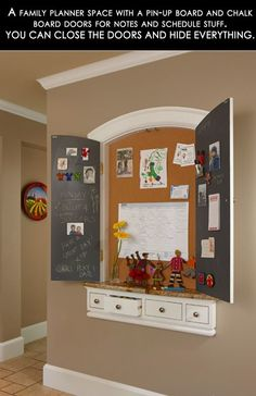 family planner space