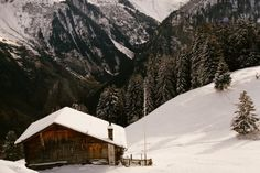 Cabin in Mürren, Switzerland.    Submitted and photographed by Emily Sullivan.