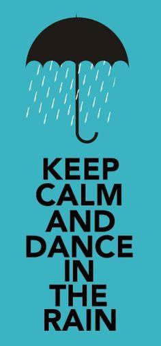 baila en la lluvia! (: