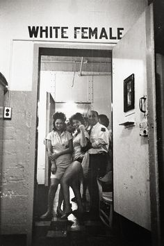 Women's Detention, New Orleans, 1963 by Leonard Freed