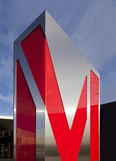 Tacoma Art Museum signage and wayfinding - by Studio Matthews / Core77 Design Awards