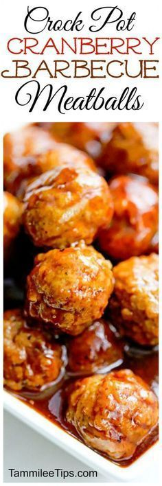Crock Pot Cranberry Barbecue Meatballs This crock pot cranberry barbecue meatball appetizer recipe is perfect for Super Bowl Football parties or New Years! So easy to make in the slow cooker! Great for a crowd and leftovers make a great sandwich. Appetizers For A Crowd, Food For A Crowd, Appetizers For Party, Appetizer Recipes, Appetizers Superbowl, Dip Recipes, Parties Food, Sandwich Recipes, Sandwich Video