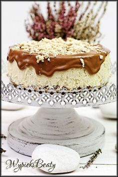 Polish Recipes, Polish Food, Coffee Cake, Cheesecakes, Vanilla Cake, Food And Drink, Easy Meals, Cooking Recipes, Sweets
