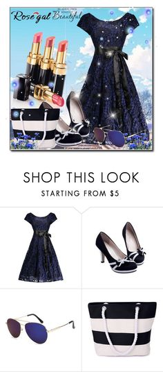 """""""Rosegal style"""" by md-secretary ❤ liked on Polyvore featuring WALL and vintage"""
