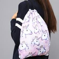 Bildergebnis für Unicorn Produkte Drawstring Backpack, Backpacks, Bags, Fashion, Products, Pictures, Handbags, Moda, La Mode