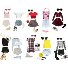 """""""Affordable & adorable nymphet inspired outfits *requested cheap nymphet ideas"""" by rabbitcult on Polyvore"""