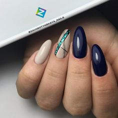 65 Nail Art Ideas That Work Great For Almond Shaped Nails Perfect combo Manicur. 65 Nail Art Ideas That Work Great For Almond Shaped Nails Perfect combo Manicures Gel Nails Shape, Almond Shape Nails, Almond Nails, Short Almond Shaped Nails, Hair And Nails, My Nails, Super Nails, Nagel Gel, Prom Nails