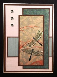 Dragonfly Art by BarbieP - Cards and Paper Crafts at Splitcoaststampers