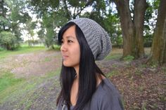 Crochet Slouchy Beanie - Unisex - One Size Fits Most Teen/Adult - Made to Order