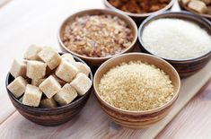 Gute Zuckeralternativen