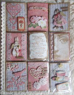 Pocket Letter: Pink Shabby Chic