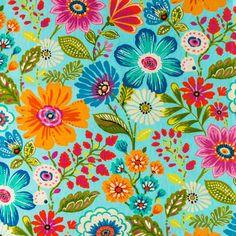 Two OUTDOOR Pillow Covers - Blue Pillow Cover - Floral Pillow Cover - Floral Throw Pillow - Decorative Pillow - Patio Pillow - Lumbar Pillow Flower Prints, Flower Art, Fabric Patterns, Print Patterns, Fabric Design, Pattern Design, Floral Shower Curtains, Outdoor Fabric, Indoor Outdoor