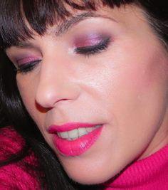 lapinturera - Blog de cosmética, maquillaje y belleza.: Fucsia y negro con BH Cosmetics (Look, manicura y outfit)