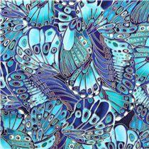 Timeless Treasures - Schmetterling mit Gold - Kollektion: Shimmer
