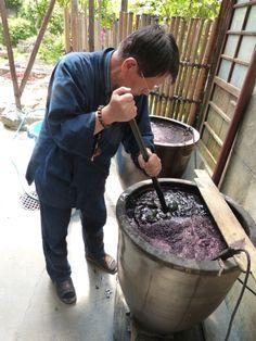 Indigo vat, Kyoto