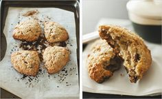 Date & Pecan Scones from Maria Speck's Ancient Grains for Modern Meals via Sprouted Kitchen