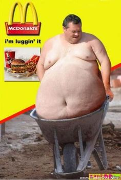 ...one way to carry your tummy around, I guess....... Funny Fat People – Funny Fat People 012 (FunnyPica.com)