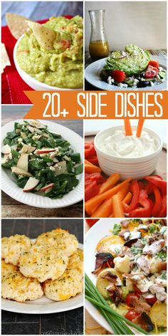 A roundup of 20+ side dish recipes, all so delicious!! { lilluna.com }