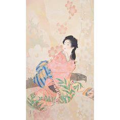 Papier peint asiatique personnalisé style japonais la pluie de pétales de cerisier et pivoine