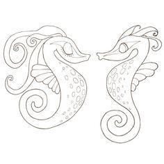 Cahier de coloriage Caprices Animaux marins - 60 pages