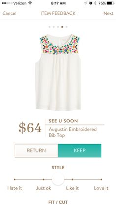 Typically would say no to white but LOVE the pops of colors to go with a solid bright pant or shorts