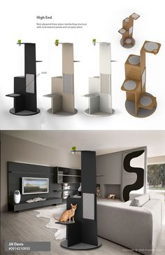 STEP Cat Tower on Behance