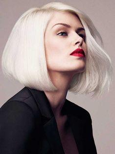 25 cabelos loiros chanel lindos mais dicas e cuidados para o seu! http://salaovirtual.org/cabelo-chanel-loiro/ #cabelosloiros #chanel #salaovirtual