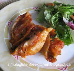 Stuffed Pasta Shells | Simple Gluten Free Kitchen