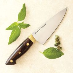 "Bob Kramer 6"" Carbon Steel Chef's Knife by Zwilling J.A. Henckels®, available at #surlatable"