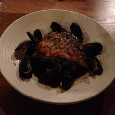 Sea Bream, Mussels With Crushed Potatoes @ Loch Fyne Restaurants Reading
