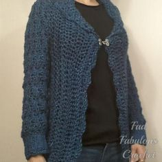 (4) Name: 'Crocheting : Forget Me Not Cardigan Sweater Pattern