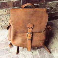 If you take good care of your bag itll take good care of you. Happy late 40th birthday @edenforest!  #BirthdayLeather #Backpack #BetterWithAge #LeatherGoods #SaddlebackLeather
